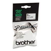 Brother M-K221BZ icke laminerad svart på vit tejp, 9mm (ORIGINAL) MK221BZ 080600
