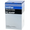 Brother PC-104RF svart färgband 4-pack (original Brother) PC104RF 029985