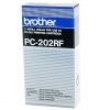 Brother PC-202RF svart färgband 2-pack (original Brother) PC202RF 029870