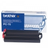 Brother PC-70 svart färgband (original Brother) PC70 029850