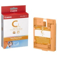 Canon Easy Photo Pack E-C25L bläckpatron + papper (original Canon) 1250B001AA 018180