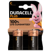 Duracell plus MN1400 C batterier 2-pack MN1400 204504