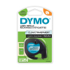 Dymo S0721530/12267 transparent plasttejp, 12mm (ORIGINAL) S0721530 088312