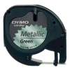 Dymo S0721740 (91209) metallic grön tejp, 12mm (ORIGINAL) S0721740 088316