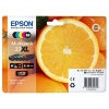 Epson 33XL (T3357) multipack hög kapacitet (original) C13T33574010 026870