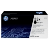 HP 53X (Q7553X) svart toner hög kapacitet (original HP) Q7553X 039735