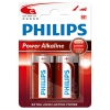 Philips Power Alkaline LR14 Baby C batterier 2-pack LR14P2B/10 098304
