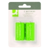 Q-Connect KF00490 LR14/C batteri 2-pack KF00490 235187