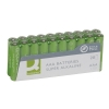 Q-Connect KF10849 LR3/AAA batterier 20-pack