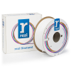 REAL 3D Filament PETG vit 1.75mm 1kg (varumärket REAL)  DFE02013