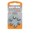 Rayovac extra advanced 13 hörapparatsbatteri 6-pack (orange)